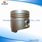 닛산 Ka24de Td25/Td27/Qd32/Qr25/Z24/Hr16de/Qr20/Fe6t/Bd30t를 위한 자동차 부속 피스톤