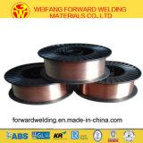 El alambre de soldadura Er70s-6 compuso de bobina del alambre de acero de la alta calidad