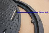 Blocco per grafici del coperchio di botola di En124 A15 SMC con la serratura