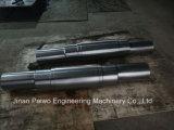Il metallo prezioso lavorato CNC parte l'asta cilindrica del metallo