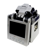 銀色の自動FTTHの光ファイバスプライサ(FS-86)