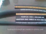 고압 Steel Wire Braided Hydraulic Rubber Hose R1 R2 1sn 2sn