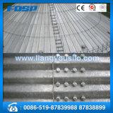 Silo galvanizado do aço do armazenamento da grão da garantia de CE& almofada de comércio