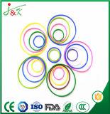Joint circulaire en caoutchouc de silicones d'EPDM FKM avec jaune/vert/Brown/noir