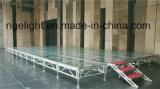 Этап переклейки проекта случаев выставки свадебного банкета алюминиевый