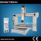 CNC маршрутизатора оси автомата для резки 5 CNC акриловый с Ce