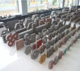 O tijolo de bloqueio faz à máquina uma pressão de 230 toneladas