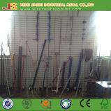 Pieu électrique blanc d'isolation de poste de frontière de sécurité de pp utilisé pour des animaux