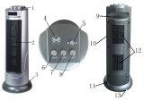 Riscaldatore di ventilatore di ceramica della torretta poco costosa popolare (5133)