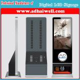 Hete LCD van de Hal van het Hotel van de Haven van de Lucht van de Verkoop Digitale Signage van de Machine van de Schoen van de Vertoning van de Reclame Oppoetsende