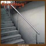 Portal-Geländer-Systems-Kabel-Geländer-Edelstahl für Balkon (SJ-X1044)