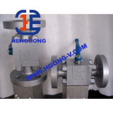 Vávula de bola soldada acero forjada de alta presión de API/DIN