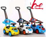 Cabritos populares calientes 2017 del bebé de los juguetes del modelo nuevo que resbalan coche del coche del bebé del coche de la torcedura del coche del oscilación de los cabritos del coche el pequeño del caminante del coche del empuje de las ruedas mega del coche cuatro