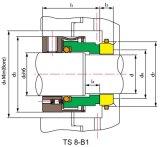 기계적 밀봉, 펌프 물개, Johncrane 8-1, 8b-1, T9&9t,