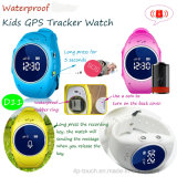 IP67 imprägniern Kinder GPS-Uhr mit PAS-Taste (D11)