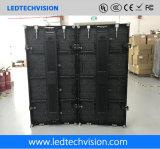 Goedkoopste LEIDENE Vertoning in China, Binnen Flexibele LEIDENE van de Huur P3.91mm Vertoning