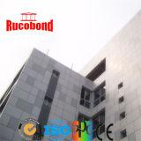 Pannello composito di alluminio del PE del rivestimento PVDF della parete del materiale da costruzione di Guangzhou Rucobond (RUCO15-4)