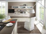 Weißer Schüttel-ApparatModularbauweise-festes Holz-Küche-Schrank