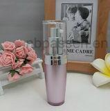 Vaso acrilico rotondo viola della crema della bottiglia per l'imballaggio dell'estetica (PPC-CPS-030)