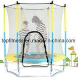 Кровати Trampoline малышей парк Trampoline напольной профессиональный с сетью безопасности