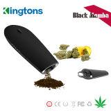 中国の卸し売り蒸発器煙る装置Kingtonsのブラックマンバの乾燥したハーブのペン