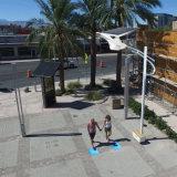 Bluesmart Solar-LED Garten-Straßenlaterne-im Freienlampen-Bewegungs-Fühler-Beleuchtung