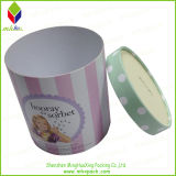 Boîte rigide ronde mignonne à sucrerie de carton