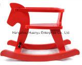 Balancim de madeira do cavalo do cavalo de balanço da fonte da fábrica com proteção