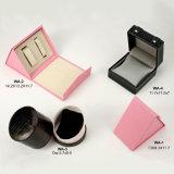 Коробка драгоценности кольца ткани, деревянная коробка хранения, бумажная коробка ожерелья, коробка подарка монетки, кожаный случай ювелирных изделий, коробка вахты (002)