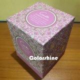 Коробка подарка упаковки бумаги свечки высокого качества красная
