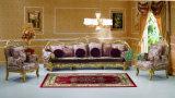 Sofá de Wood Classic Fabric do carvalho para Villa e Hotel Furniture (YF-D962C)