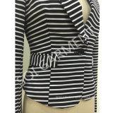 Костюм блейзера печати прокладки женщины тонкий (BLA-44) - печати освобождает избрание