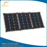 Módulo de dobramento 150W do painel solar para acampar