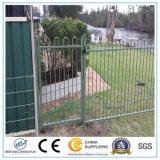 Alumínio do pó preto/cerca revestidos ao ar livre do ferro/metal