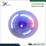 LED 다채로운 빛을%s 가진 손 방적공 장난감의 5 잎 Matel