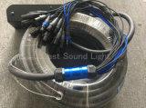 Custom 24 Canal de audio XLR de cable de la serpiente con la unidad de escenario