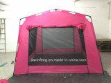 6人の即刻の小屋のテント
