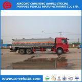 20 camion di consegna di olio combustibile del tester cubico