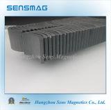 Магнит малого феррита дуги постоянного керамический для мотора