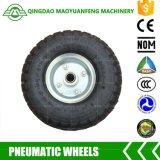 """roda do trole de 10 """" Qingdao com bordas do metal"""