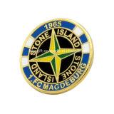 La polizia all'ingrosso su ordinazione del metallo Badge