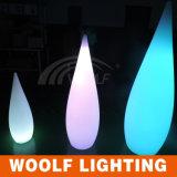 2017 luz nova da Água-Gota da gota Light/LED da chuva do diodo emissor de luz do projeto