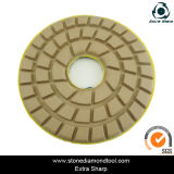 Épaissir 10mm Floor Grinder Resin Bond Polishing Abrasive Disc