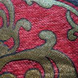 Tessuto 100% di Chenille tinto del filato di poliestere del reticolo del foglio per il sofà