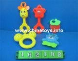 Игрушка кольца младенца воспитательной игрушки младенца установленная, игрушка трещотки младенца (162104)