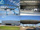 Hangar del aeroplano de la estructura de acero del bajo costo y de la alta calidad