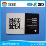 Cartão chave esperto do controle de acesso padrão RFID do PVC Cr80