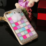 2015 heißes Sale Cyrstal Diamond Bling Phone Fall für iPhone 6/6 Plus mit Colorful Jelly Crystal Diamond