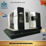 Boa qualidade para o centro fazendo à máquina horizontal do CNC com a tabela de funcionamento dois