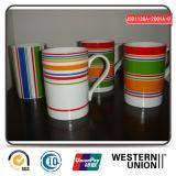 Tasse en céramique multicolore pour la consommation quotidienne